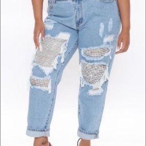 Denim Bling Jeans